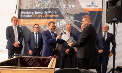 Ground-breaking ceremony held for Wärtsilä built Hamina LNG terminal 17