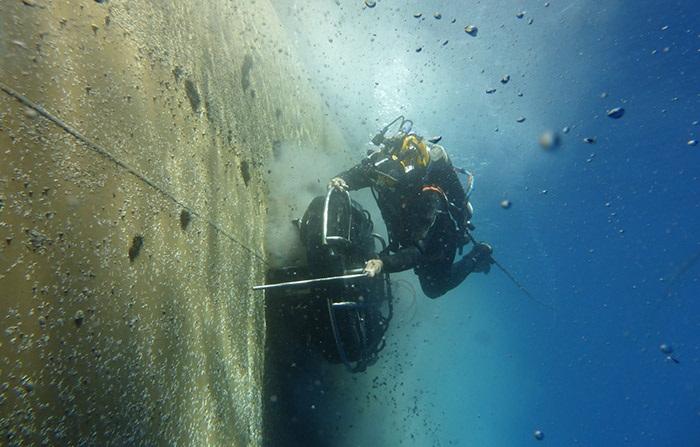 Wärtsilä's divers enable operators to avoid unscheduled dry-dockings 5