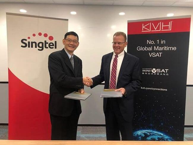 Singtel & KVH Industries Collaborate To Accelerate Digitalization Across Asia Pacific 1