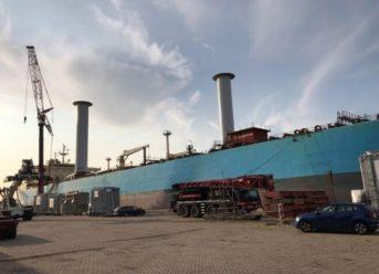 Testing Begins On First Product Tanker Vessel Utilising Wind Propulsion Technology 6