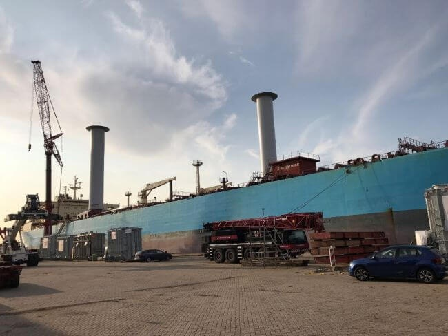Testing Begins On First Product Tanker Vessel Utilising Wind Propulsion Technology 5