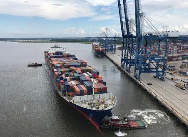 SC Ports Achieves Record Container Volume In August 1
