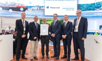 """Hapag-Lloyd Becomes First Shipping Company To Receive """"DNV GL Excellence Green Star"""" Certificate For Ship Recycling 11"""