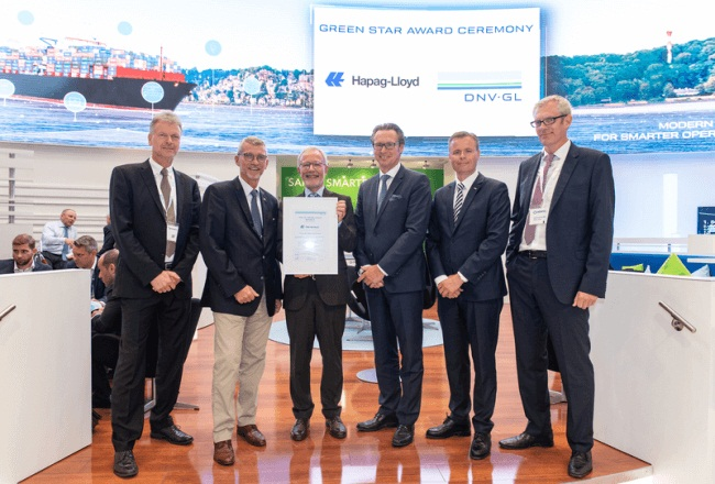"Hapag-Lloyd Becomes First Shipping Company To Receive ""DNV GL Excellence Green Star"" Certificate For Ship Recycling 1"