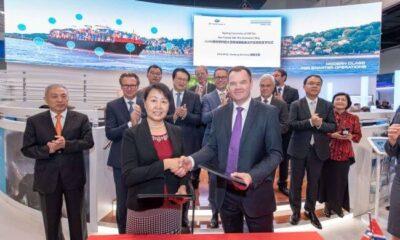 DNV GL And DSIC Sign JDP To Develop LNG Fuelled 23,000 TEU ULCV 9
