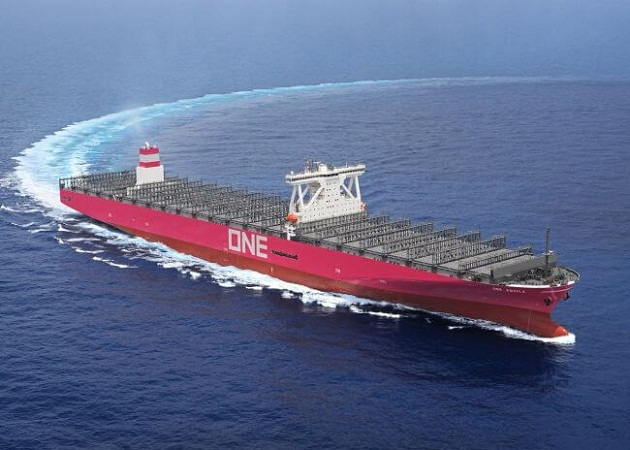 ONE Receives Delivery Of 14,000 TEU Container Ship 'Aquila' 7