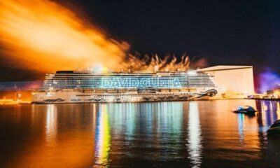 World's First LNG Powered Cruise Ship AIDAnova Officially Named 5
