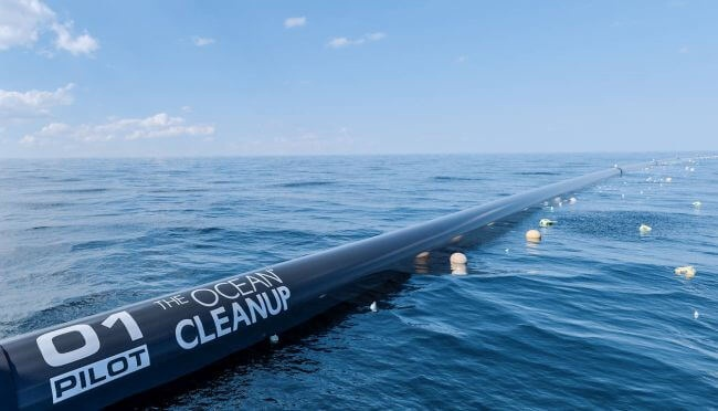 World's First Ocean Cleanup System Launched From San Francisco