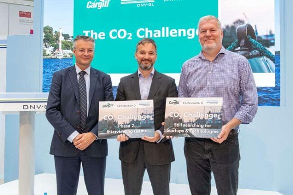 Cargill, Rainmaking And DNV GL Launch Second Stage Of CO2 Challenge 5