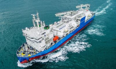 World's Largest LNG Bunker Supply Vessel Starts Operations 6
