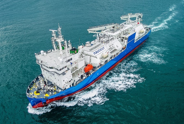 World's Largest LNG Bunker Supply Vessel Starts Operations 5
