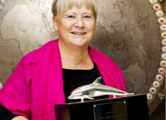 IMO Presents International Maritime Prize To Mrs. Birgit Sølling Olsen 8
