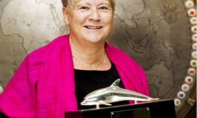 IMO Presents International Maritime Prize To Mrs. Birgit Sølling Olsen 19