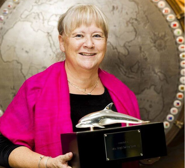 IMO Presents International Maritime Prize To Mrs. Birgit Sølling Olsen 5