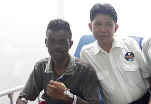 Miracle Seafarer Survives Six Days In The Sea After Ship Sinks 1