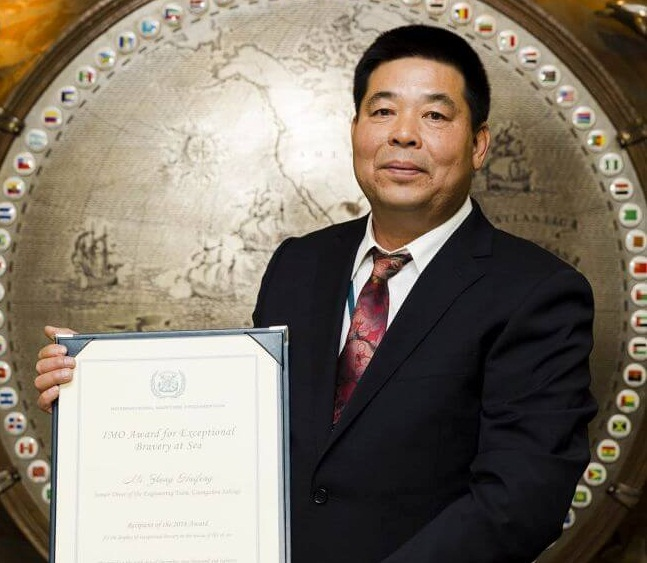 Rescue Diver From China Who Saved Three Recognized With IMO Bravery Accolade 12