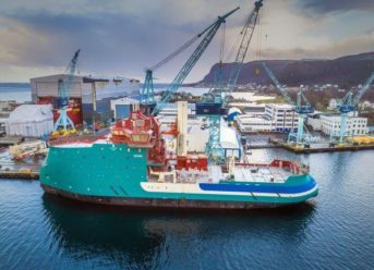 Ulstein's Second DP2 W2W Vessel 'Acta Centaurus' In Final Construction Phase 5
