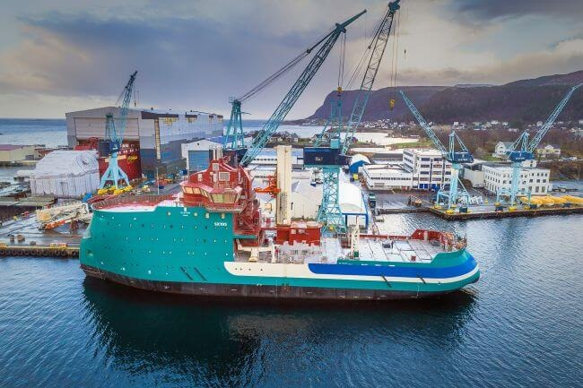 Ulstein's Second DP2 W2W Vessel 'Acta Centaurus' In Final Construction Phase 8