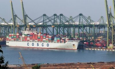 COSCO Shipping Adds Call to Port of Tampa Bay 8