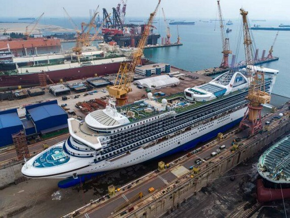 Photos: Sembcorp Marine Reprises Role As Asia's Top Cruise Ship Repair And Upgrade Solutions Provider 5