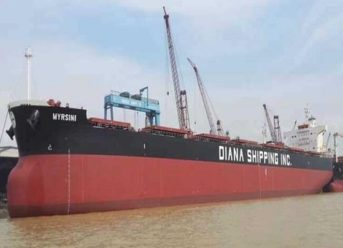 Diana Shipping Inc. Announces Time Charter Contract For M/V Myrsini With Glencore 5