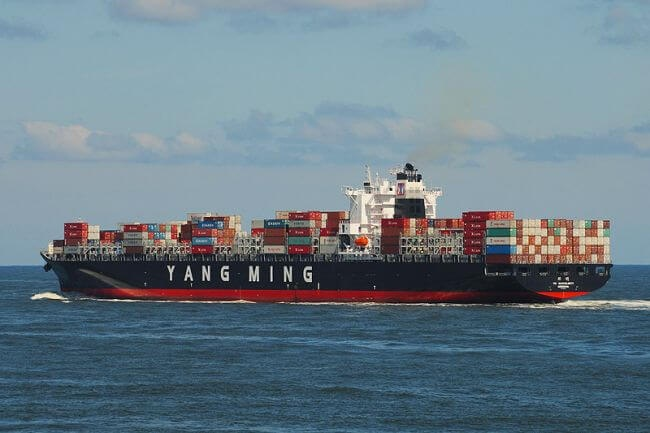 Yang Ming Launches Two 14,000 TEU Ultra Large Container Vessels 1