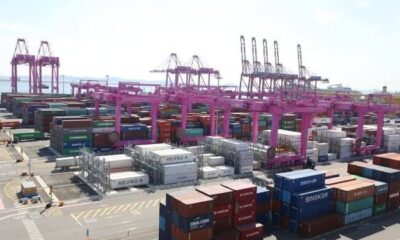 Incheon Port Reached 3 Million TEU Of Container Traffic Volume Early 6