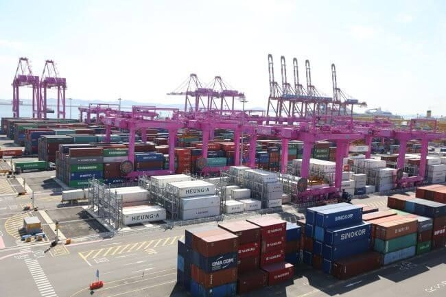 Incheon Port Reached 3 Million TEU Of Container Traffic Volume Early 1