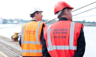 Seafarers' Charity Provides Support For Stowaway Ship Crew 6