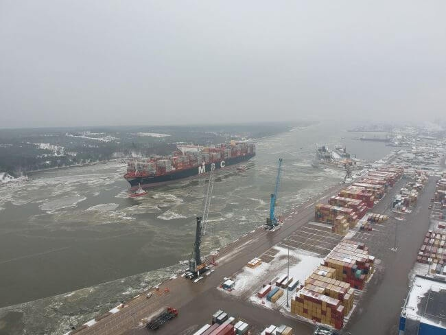 Klaipeda Seaport Opens Gates To One Of The Largest Vessels Worldwide 5