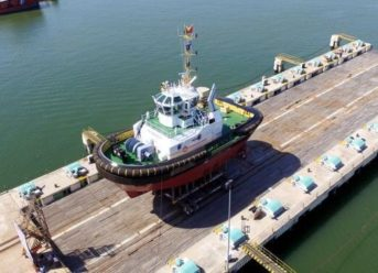 Damen's New Tug Increases Capabilities In Support Of Port Expansion Project 5