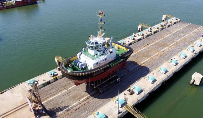 Damen's New Tug Increases Capabilities In Support Of Port Expansion Project 1