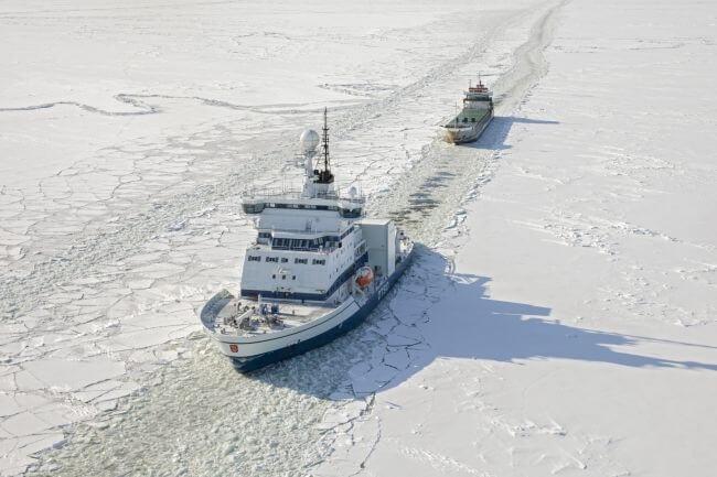 Arctia's Icebreaker Otso Departed As The Season's First Icebreaker 1