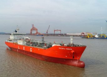 Two LEG Carriers built by Sinopacific with Wärtsilä solutions onboard are named 2