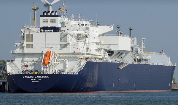 Gaslog Lifts Options for LNG Carrier Pair at Samsung 5