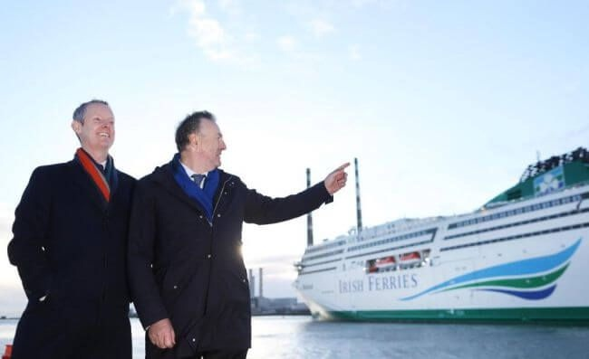 Irish Continental Group Invests EUR 155 Million EIB Support In Two New Cruise Ferries 1