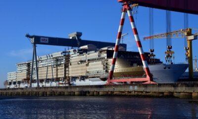 EU to Probe Fincantieri's Chantiers de l'Atlantique Takeover 16
