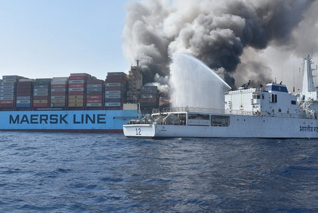 Maersk Honam to Be Shipped to Hyundai Heavy for Rebuilding 5