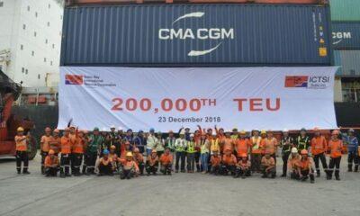 ICTSI Subic Hits Milestone 200,000th TEU Move 5