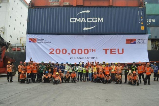ICTSI Subic Hits Milestone 200,000th TEU Move 1