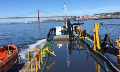 First Hopper Dredger Built At Portuguese Yard For Portuguese Contractor Begins Job 8