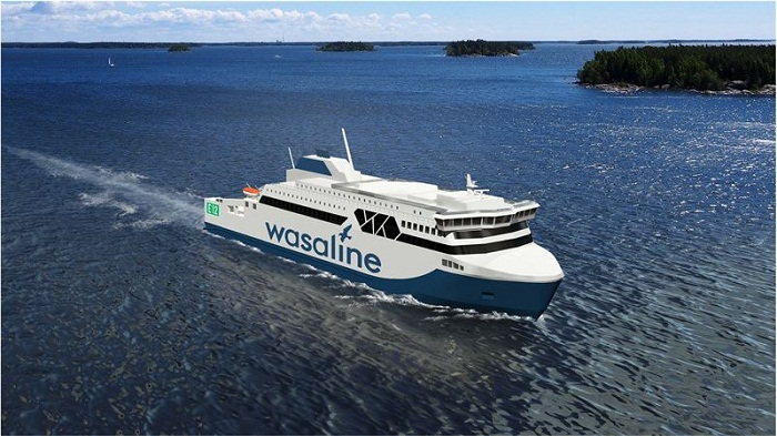 Kvarken Link, RMC Sign LOI for Hybrid Ferry 1