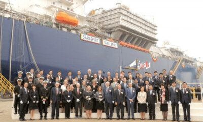 Teekay Welcomes LNG Carrier Sean Spirit Into The 'Legacy Class' 8