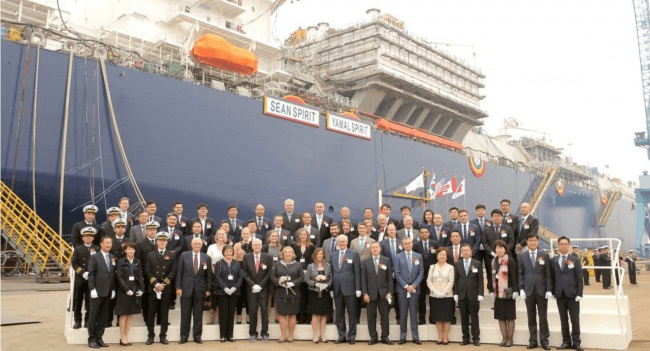 Teekay Welcomes LNG Carrier Sean Spirit Into The 'Legacy Class' 1