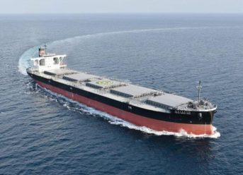 NYK Receives Delivery Of New Coal Carrier For Hokkaido Electric Power 2