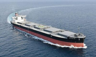 NYK Receives Delivery Of New Coal Carrier For Hokkaido Electric Power 6