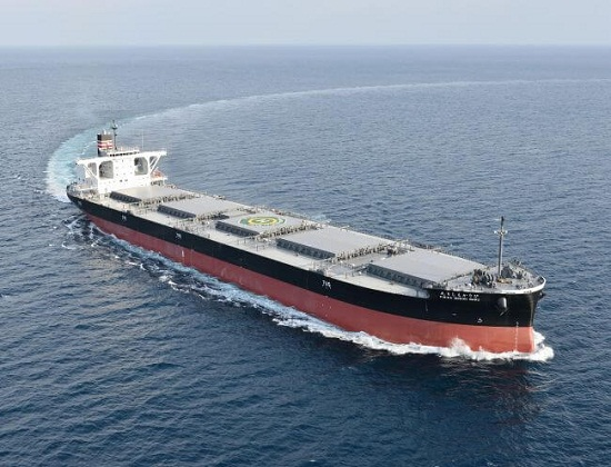 NYK Receives Delivery Of New Coal Carrier For Hokkaido Electric Power 12