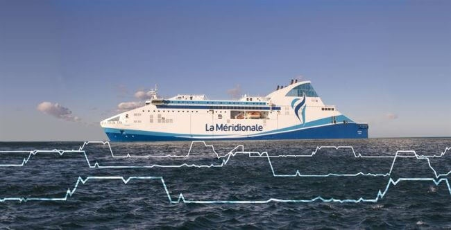French Ferry Operator Achieves Proven Savings Through Wärtsilä's Energy Management Tech 10