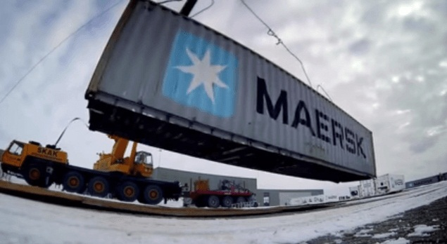 Maersk Implements Physical Container Inspection Pilot In North America 1