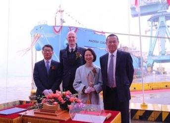 Maersk Tankers Names New MR Unit in China 7